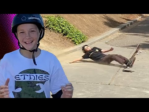 TRAE MONTGOMERY 13 MINUTES OF RAW & UNCUT CARNAGE FROM HIS STREET PART | Santa Cruz Skateboards