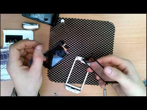 AYMobile - ремонт телефонов. Разбор и замена сенсора на телефоне Nokia 311