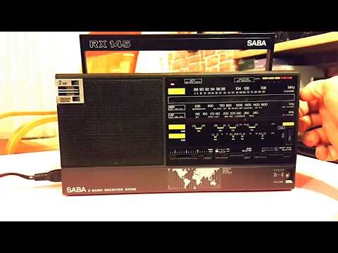 Radio SABA RX 145