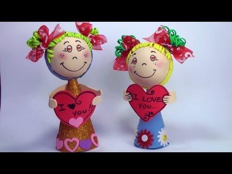 Como hacer regalo para dia de los enamorados manualid doovi - Manualidades para hacer en san valentin ...