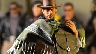 """12"""" 1/6 Custom BLONDIE FIGURE THE MAN WITH NO NAME. GOOD, THE BAD, THE UGLY! Rainman Cowboy"""