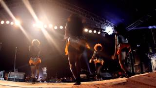 "THE TREK 2014 - TIWA SAVAGE PERFORMS ""WITHOUT MY HEART"" #LAGOSROCKS"