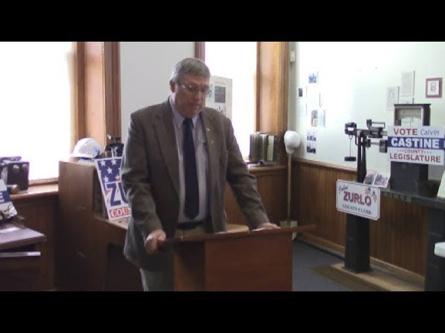 Champlain Republican Press Conference  9-25-19