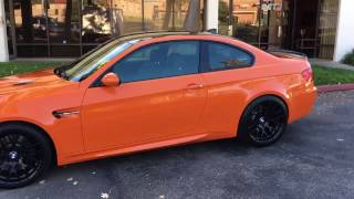 Paint Correction | Limited Edition M3 BMW Coupe | DP Tint