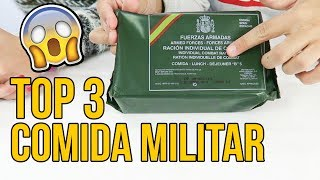 TOP 3 COMIDA DE SUPERVIVENCIA MILITAR