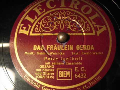 Peter Igelhoff - Das Fräulein Gerda