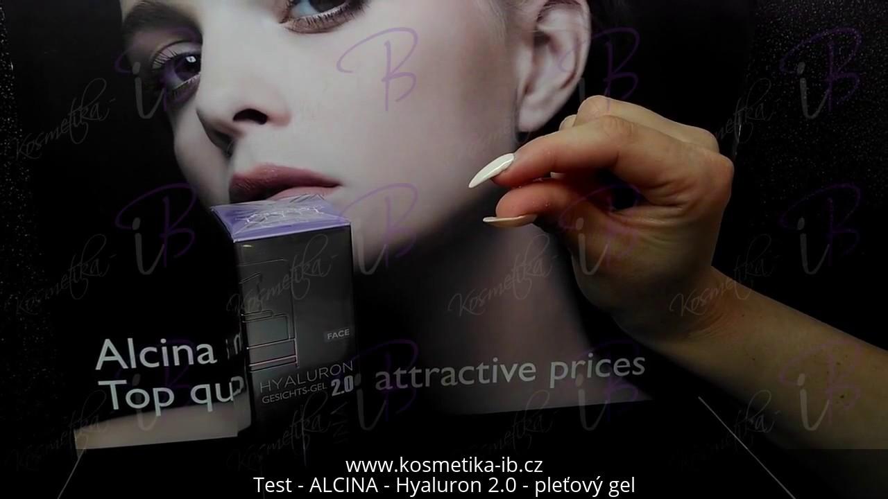 Kosmetika Ib Test Alcina Hyaluron 20 Pleťový Gel Hyaluron
