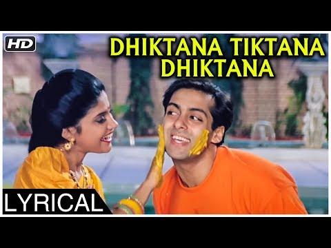 dhiktana-tiktana-dhiktana-|-version-1-|-lyrical-|-hum-aapke-hain-koun-|-salman-khan,-madhuri-dixit