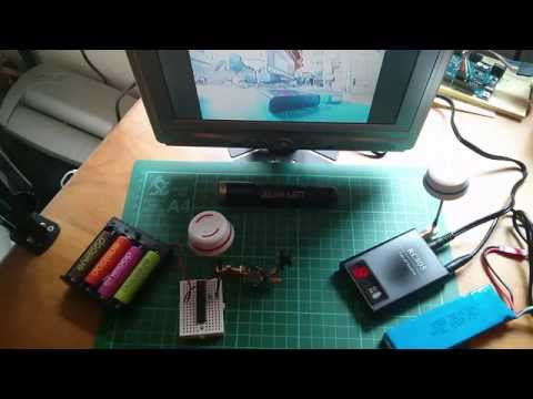 Quadcopter 5.8GHz 10mW FPV Video/Audio Transmitter Build