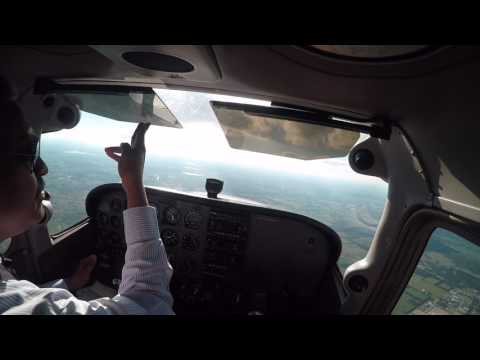 First Solo 150 nm x-country - ATW - CWA - AIG - ATW - Part 1
