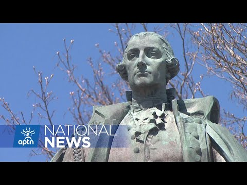 Statue of Halifax founder Edward Cornwallis continues to attract controversy | APTN News