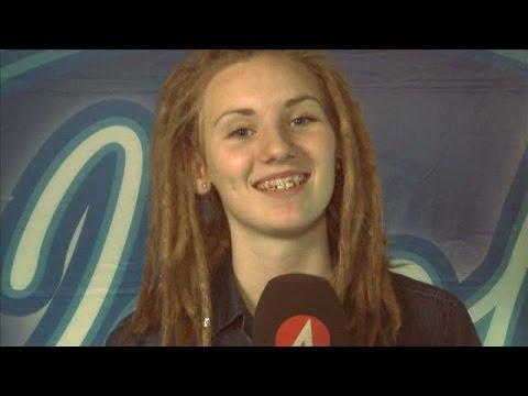 """Moa Lignell: """"Gillar att spela tennis"""" - Idol Sverige (TV4)"""