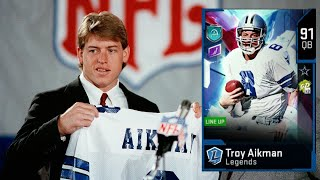 Today we break down the new troy aikman and test his release vs steve young. is lack of mobility an issue?check out main channel: https://www....