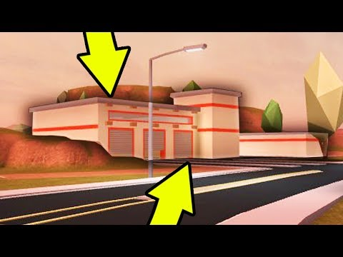 THIS NEW BUILDING IN JAILBREAK..   Roblox