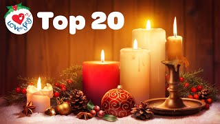 Popular 20 Christmas Songs and Carols Love to Sing Music Playlist 🕯️ Merry Christmas