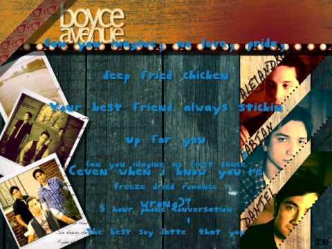 Boyce Avenue - Drops Of Jupiter - Lyrics