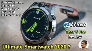 Zeblaze Thor 5 PRO Review! Ultimate Smartwatch with Dual 5MP Cameras