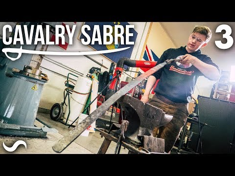 MAKING THE CAVALRY SABRE: Part 3