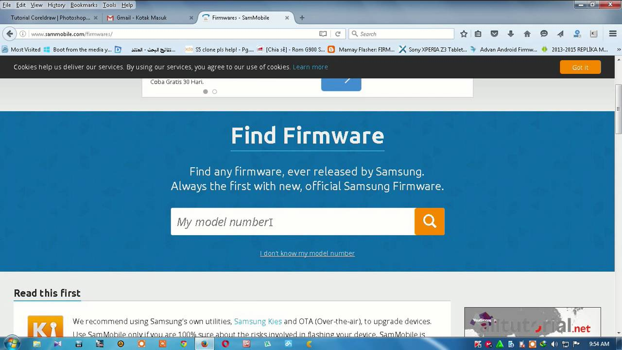 How to download firmwares for samsung from sammobile youtube.