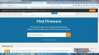 Cara download firmware Samsung di Sammobile.com