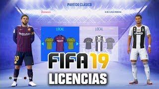 FIFA 19 - TODOS LOS EQUIPOS, PAISES Y LIGAS LICENCIADAS!!!