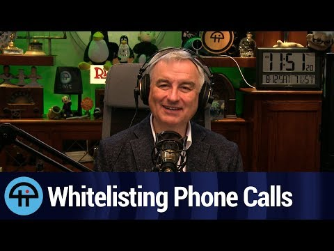 Whitelisting iPhone Calls