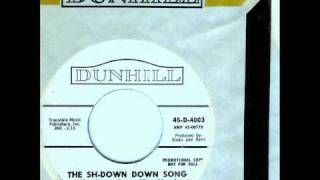 Ginger-Snaps - THE SH-DOWN DOWN SONG  (1965)