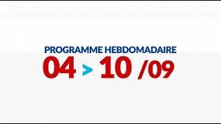 Programme de courses Equipe FDJ - Semaine du 4 au 10 septembre