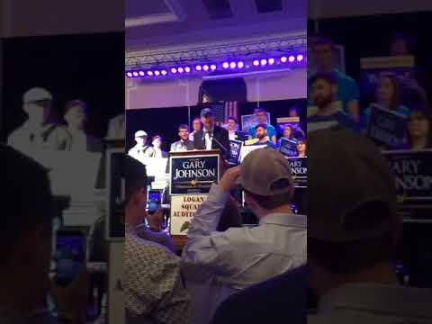 Gary Johnson Presidential Rally in Chicago 2016 - Speech Part 2