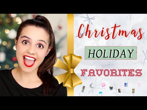 Christmas MUST HAVES & Favorite products!!!