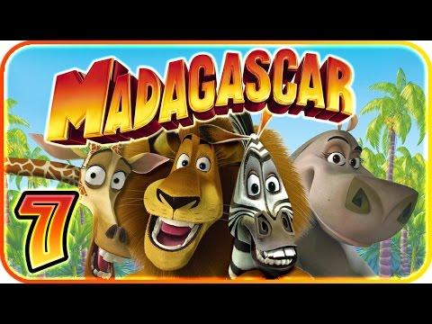 Madagascar Walkthrough Part 7 (PS2, XBOX, Gamecube, PC) Level 7 - Jungle Banquet [HD]