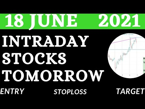 Download Best Intraday Stocks for Tomorrow ( 18  june 2021)  Intraday trading Stocks   Detailed Analysis    💥