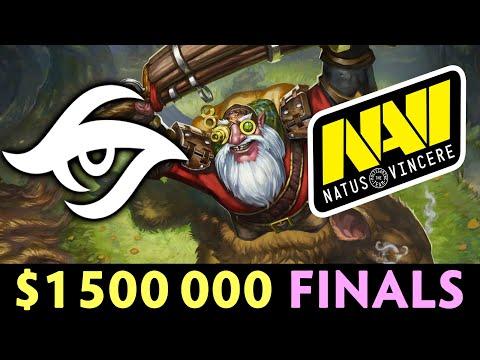 NAVI Vs SECRET — SUPPORT Sniper On $1,500,000 Event Finals