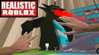 Realistic Roblox - GODZILLA ATTACKS IN ROBLOX! ROBLOX DISASTER DOME