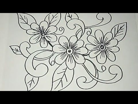 Sketsa Motif Batik Kontemporer 8 Youtube
