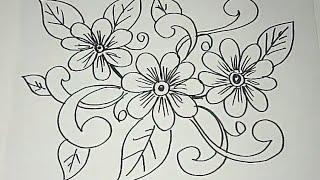Sketsa Motif Batik Kontemporer 8