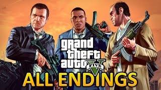 GTA 5 PC - All Endings / Final Missions
