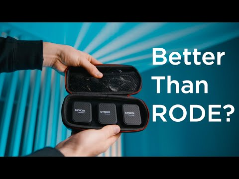 Wireless Microphone Synco G1 Review and Impressions. Quick comparison with Rode Wireless Go