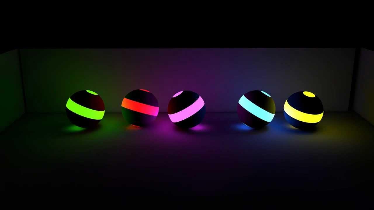 the neon light ball - photo #3