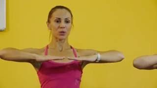 Разминка на основе движений из Pilates