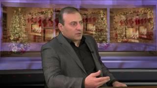Gor Vardanyan with Alina Sargsyan on USArmenia TV, 2017