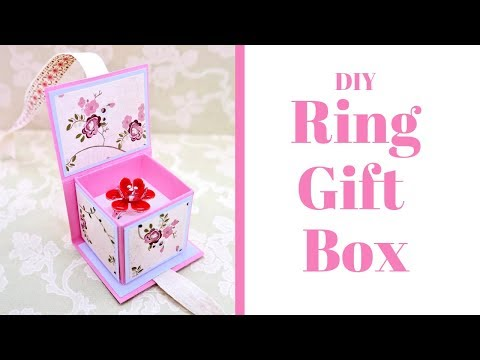 Ring Gift Box | DIY | Craft Fair Ideas