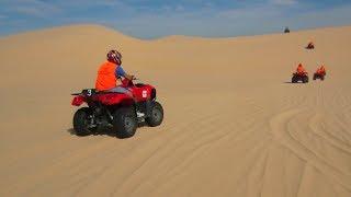 Quad Bike Desert Racing