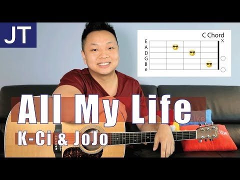All My Life - K-Ci & JoJo Guitar Tutorial