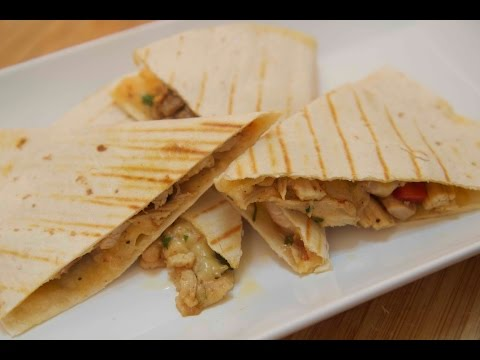 Shredded Chicken Quesadillas - Cooked By Julie Episode 207