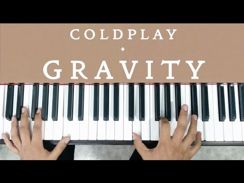 GRAVITY  COLDPLAY PIANO TUTORIAL