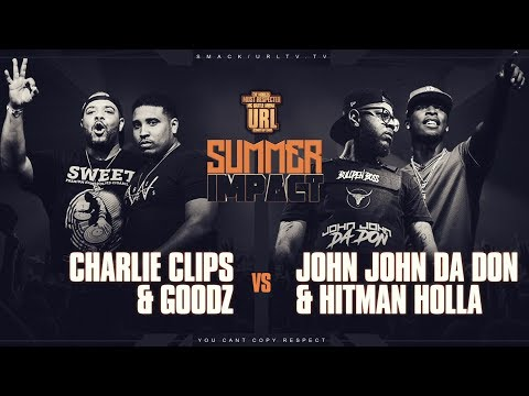 CHARLIE CLIPS & GOODZ VS HITMAN HOLLA & JOHN JOHN DA DON | URLTV