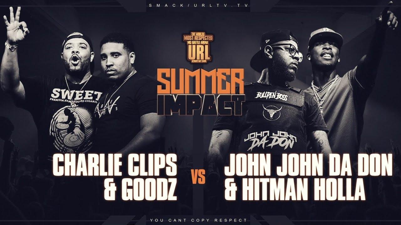 Download CHARLIE CLIPS & GOODZ VS HITMAN HOLLA & JOHN JOHN DA DON | URLTV
