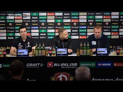 10. Spieltag | SGD - AUE | Pressekonferenz nach dem Spiel