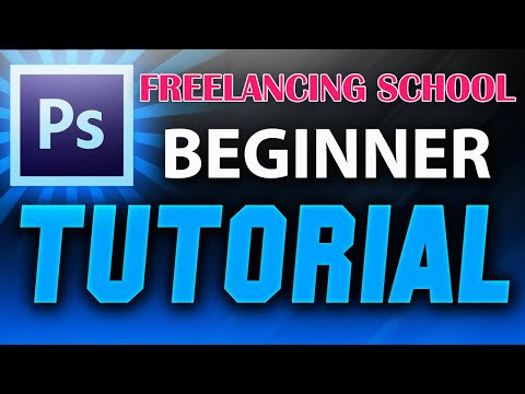 Adobe Photoshop Tutorial : The Basics for Beginners ।। FREELANCING SCHOOL thumbnail